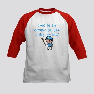 Tee Ball Boy Kids Baseball Jersey