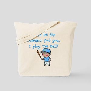 Tee Ball Boy Tote Bag