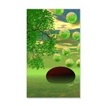 Spring Renewal Abstract 35x21 Wall Decal