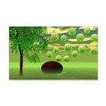 Spring Renewal Abstract 20x12 Wall Decal