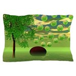 Spring Renewal Abstract Pillow Case