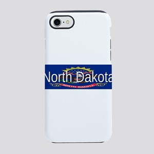 North Dakota iPhone 7 Tough Case