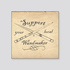 """Support your local Wandmake Square Sticker 3"""" x 3"""""""