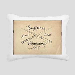 Support your local Wandm Rectangular Canvas Pillow