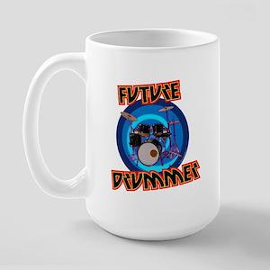 Future Drummer Color Large Mug