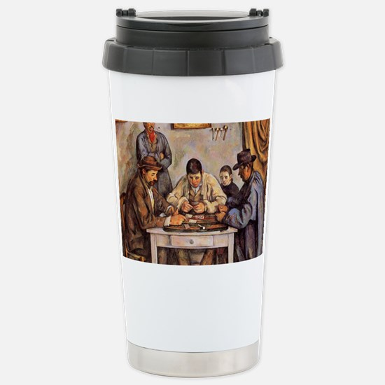 Cezanne - The Card Play Stainless Steel Travel Mug