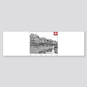 Nyhavn Bumper Sticker