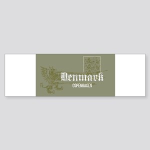 Denmark dk 1 Bumper Sticker