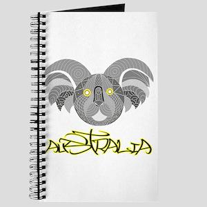 Australian Aboriginal Art - Souvenir Koala Journal