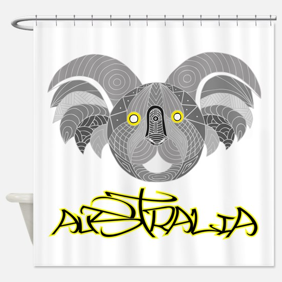 Australian Aboriginal Art - Souveni Shower Curtain