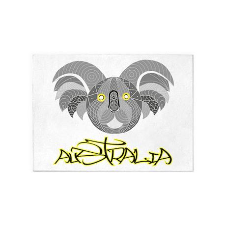 Australian Aboriginal Art Souveni 5 X7 Area Rug By Admin Cp140066292