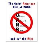 The Great American CARB Diet 2004 Rally Poster