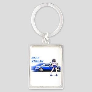 Blue Miata Keychains