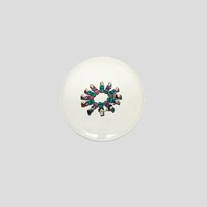 DiverseCircleFriends081311 Mini Button