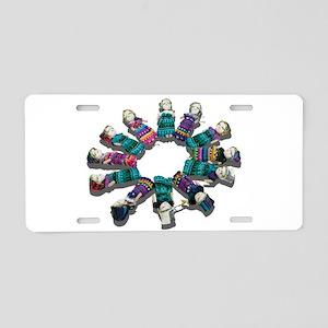 DiverseCircleFriends081311. Aluminum License Plate