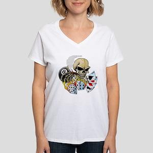 Gambler Women's V-Neck T-Shirt