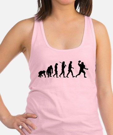 Evolution of Football Racerback Tank Top