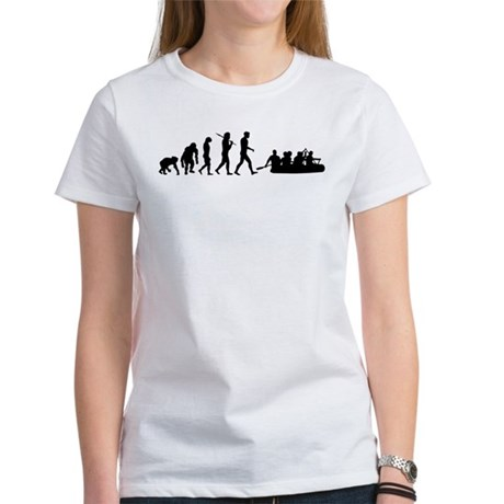 Whitewater River Rafting Women's T-Shirt