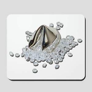 DiamondsSpillFortuneCookie082111 Mousepad