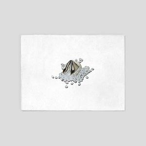 DiamondsSpillFortuneCookie082111.pn 5'x7'Area Rug