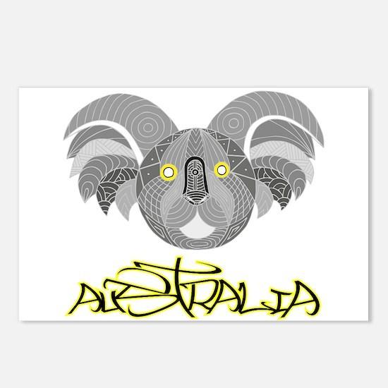 Australian Aboriginal Art Postcards (Package of 8)