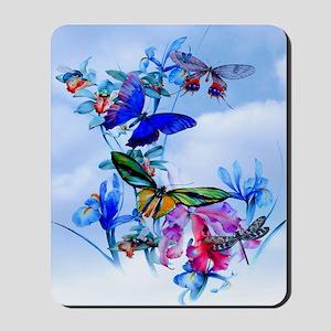 Shower Curtain Take Flight! Butterfly Ca Mousepad