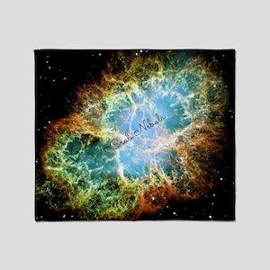 Crab Nebula Throw Blanket