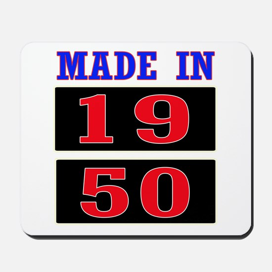 Made In 1950 Mousepad
