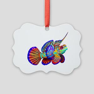Mandarin Dragonet Fish Picture Ornament