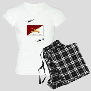 4th Air Cavalry Vietnam Women's Light Pajamas