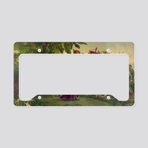 Christopher Columbus License Plate Holder