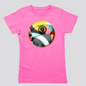 Nine Ball Panic Girl's Tee