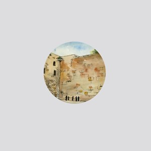 Western Wall Mini Button