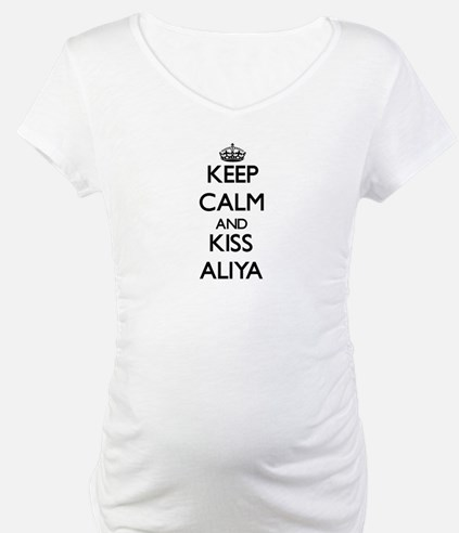 Keep Calm and kiss Aliya Shirt