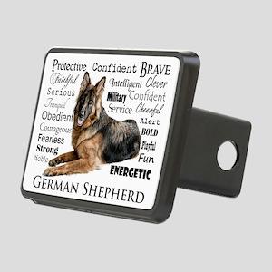 German Shepherd Traits Hitch Cover