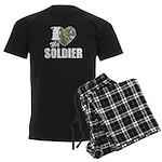 I Heart My Soldier Pajamas