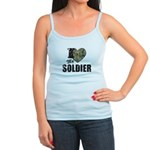 I Heart My Soldier Tank Top