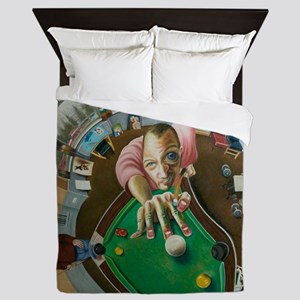 Skewed Pool Queen Duvet