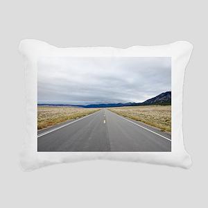 Open Roads Rectangular Canvas Pillow
