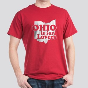 Ohio is for Lovers Dark T-Shirt