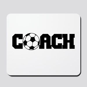 Soccer Coach Mousepad