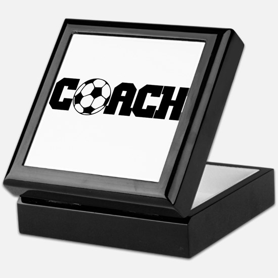 Soccer Coach Keepsake Box
