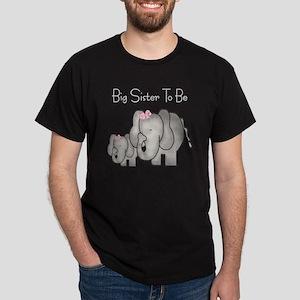 Big Sister to Be Dark T-Shirt