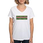 Bleeding Heart Women's V-Neck T-Shirt