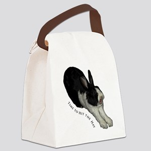 Robbie Canvas Lunch Bag