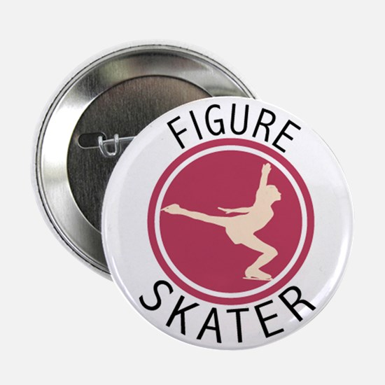 "Figure Skater 2.25"" Button (10 pack)"