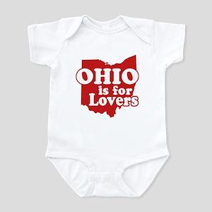 Ohio is for Lovers Infant Bodysuit