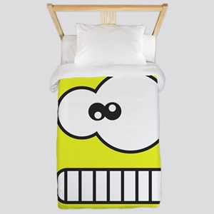 Silly Monster Face Twin Duvet