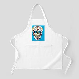 Sugar Skull Halloween Blue Apron