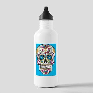 Sugar Skull Halloween  Stainless Water Bottle 1.0L